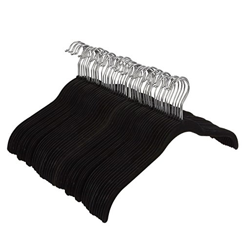Juvale Velvet Hangers - For Shirts, Dresses, and Delicate Cl