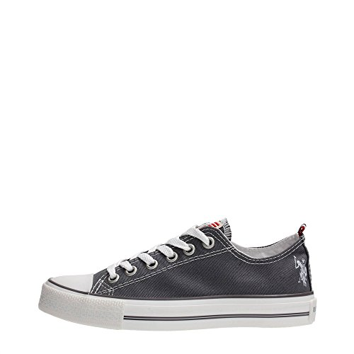 U.S.POLO ASSN. Chaussures Sneakers Canvas Homme Femme US Polo Gris Style Converse