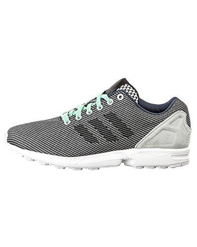 adidas Originals Unisex 'ZX Flux' Sneakers EUR 38 White with blue