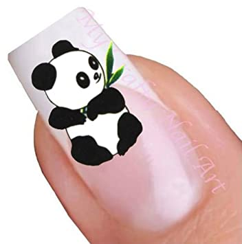 Amazon panda nail art water decal tattoo sticker health panda nail art water decal tattoo sticker prinsesfo Image collections