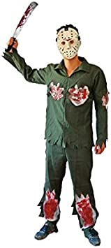 Partilandia Disfraz de Asesino Jason para niño (2-4 años): Amazon ...