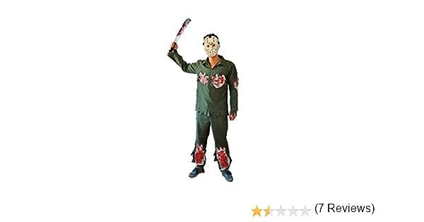 Disfraz de Asesino Jason para niño (4-6 años): Amazon.es: Juguetes y juegos