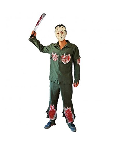 Partilandia Disfraz de Asesino Jason para niño (2-4 años)