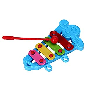 Festiday Sale Kids Toy, 2019 Baby Kid 4-Note Xylophone Musical Toys Wisdom Development Gift Education Toy for Boys Girls…