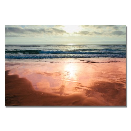 Costal Reflections IV by Ariane Moshayedi, 22×32-Inch Canvas Wall Art