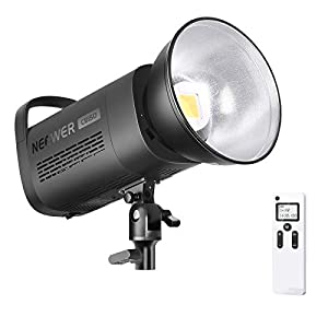 Flashandfocus.com 41tCoaiZNCL._SS300_ Neewer 150W 5600K LED Video Light, Bowens Mount Daylight Balanced LED Continuous Lighting CRI 97+,TLCI 97+ 12000Lux with…