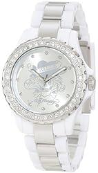 Ed Hardy Women's VX-WH Vixen White Watch