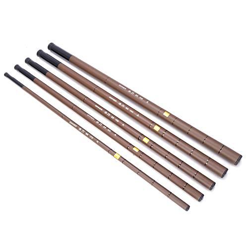 Fishing Rod Ultralight Pole Super Hard Telescopic Carbon Fiber 2.7-6.3m Fishing Rod,2.7 m