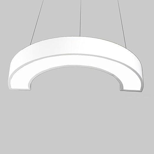 Moderne Creative Hälfte Runde Pendelleuchte Elegante Acryl Lampe Schatten  Mode Eisen Hoch Einstellbar Hängelampe Esszimmer Studie
