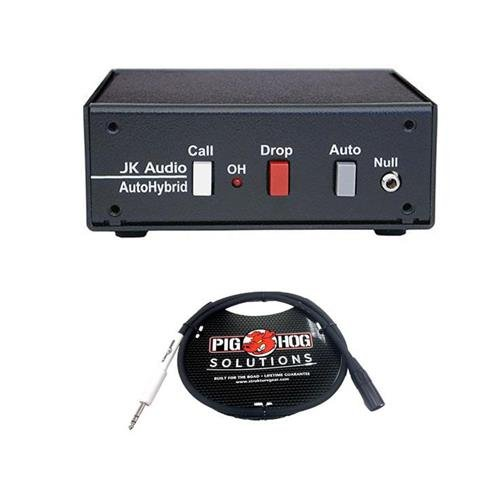 JK Audio AutoHybrid Full Duplex Auto Answer Telephone Audio Interface, 600 Ohms Output Impedance - with 3