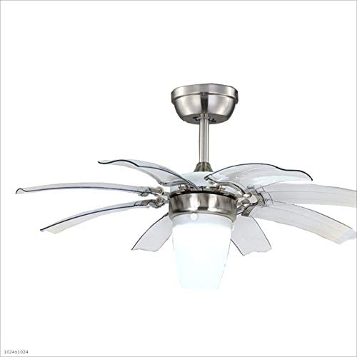Ventiladores para el Techo con Lámpara Comedor Invisible Luz de ...