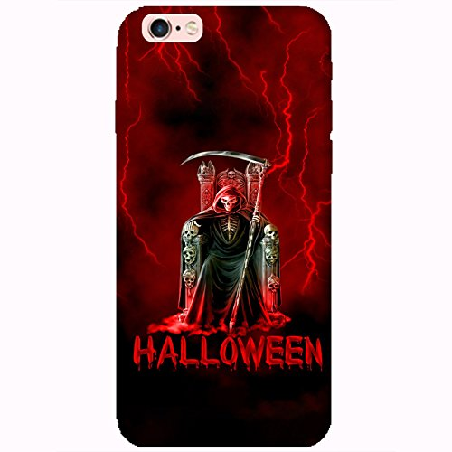 Coque Apple Iphone 6-6s - Halloween faucheuse rouge