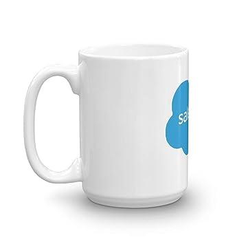 Amazon.com: Logotipo de SalesForce Tazas de café clásicas ...