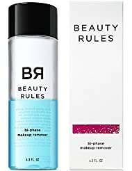 Beauty Rules Bi-phase Makeup Remover for Eyes & Lips, 4.3 Fluid Ounce