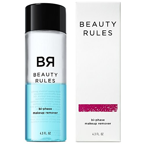 Beauty Rules Bi-phase Makeup Remover for Eyes & Lips, 4.3 Fluid Ounce by Beauty Rules