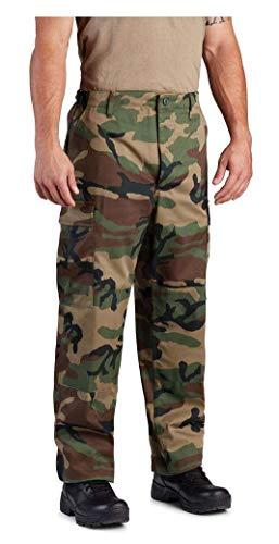 Propper Woodland Camo BDU Pants - XL/Regular (Bdu Uniform Pants)