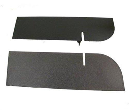 (Smittybilt JB48CRT Textured Black Rear Frame Cover)