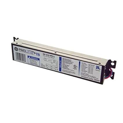 GE Lighting 73199 GE259MAX-L/ULTRA 120/277-Volt UltraMax Electronic Fluorescent T8 Multi-Volt Instant Start Ballast 2 or 1 F96T8 Lamps