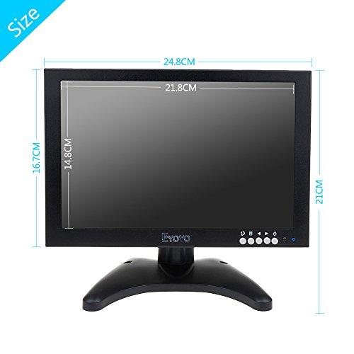 Eyoyo 10 Inch IPS TFT LCD 1280x800 Resolution Portable