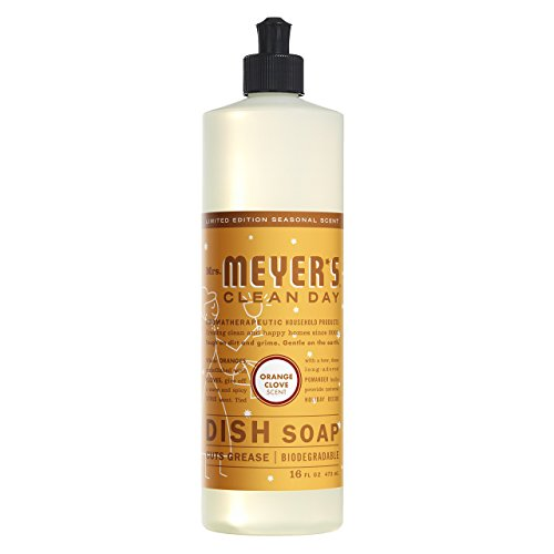orange clove dish soap - 1