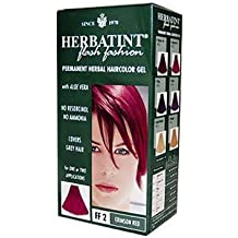 Herbatint Haircolor Kit Flash Fashion Crimson Red FF2 - 1 Kit by Herbatint