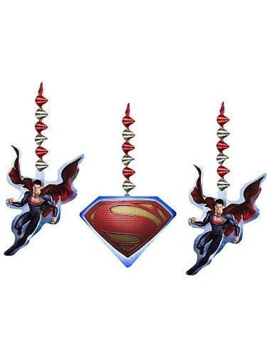 Hallmark Superman Man of Steel Hanging Decorations -