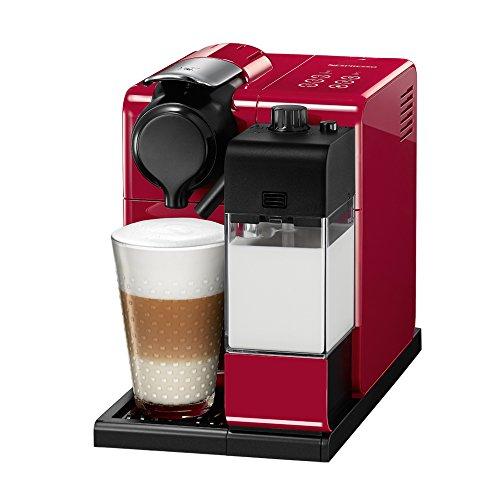 Cafetera Nespresso Lattissima Touch, Glam Red
