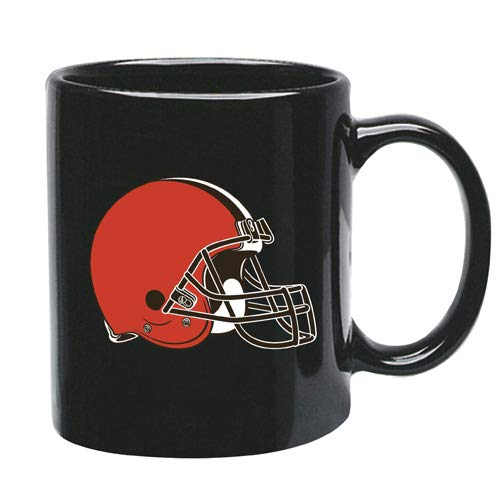 Memory Company Cleveland Browns 15 oz Black Ceramic Coffee Cup