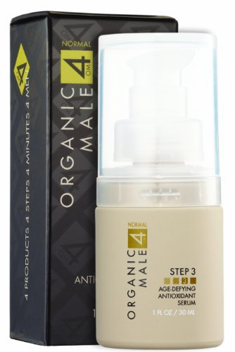 Organic Male OM4 Normal STEP 3: Age-Defying Antioxidant Serum - 1 oz by Organic Male