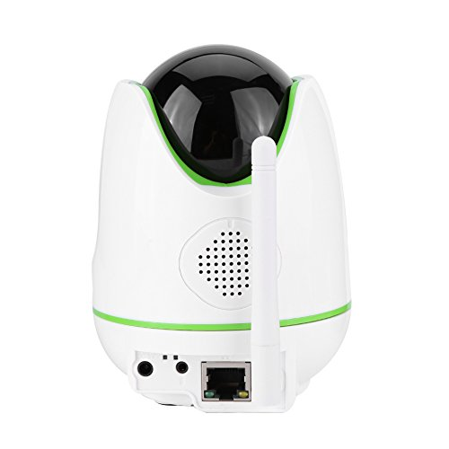 Video Baby Monitor,Fosa 720P HD WiFi Wireless Home Remote Security Camera Night Vision IR-Cut P/T Webcam(White) by fosa (Image #3)