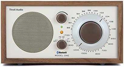 Tivoli Audio M1BT-1385-EU - Radio portátil (AM, FM, 3.5 mm), Nogal/Beige (importado)
