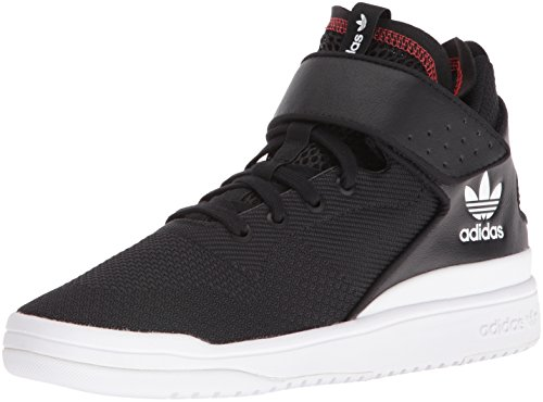 adidas Originals Men's Veritas-x Fashion Sneaker, Core Black/Core Black/White, 11.5 M US