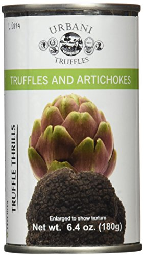 - Urbani Truffle Thrills, Truffles and Artichokes, 6.4 Ounce Can