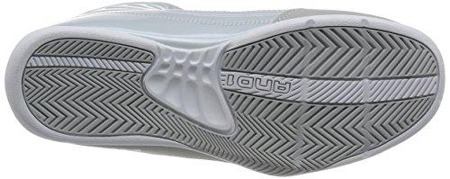 AND1 Men's Rocket 4 Glacier Grey/Glacier Grey/Bright White Sneaker 9 D (M)