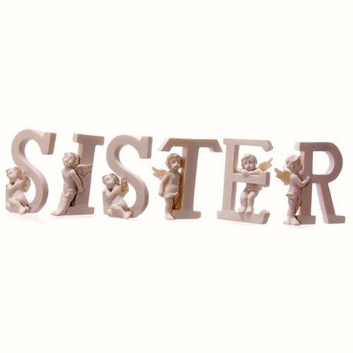 Sister Cherub Letters 6 Piece Set