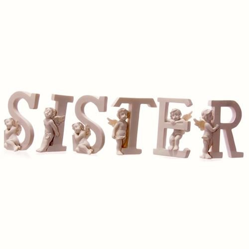 Sister Cherub Letters 6 Piece ()