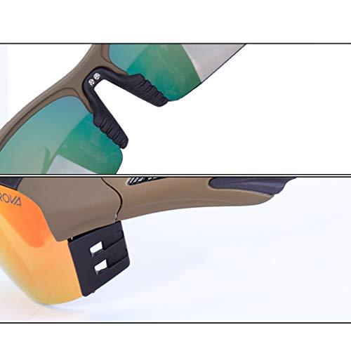 Sol Gafas E Hombre Deportivas Ajuste Balas polarizadas para Gafas Viento Espejo o Mujer C a de de Prueba CHENG SX Campo Prueba Motocicleta de a CS de Gafas Color g5f1XXPq