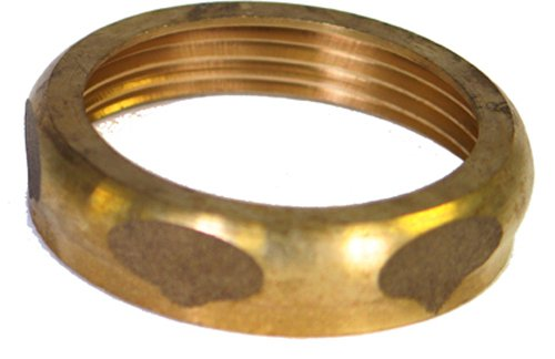 Kissler & Company 44-3001 1-1/2-Inch Slip Joint Nut, Rough Brass