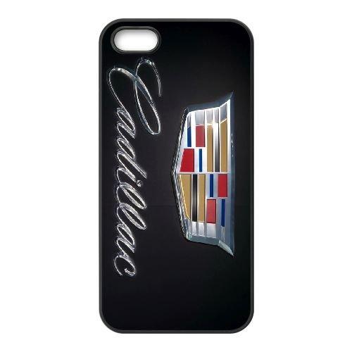 Cadillac 001 coque iPhone 4 4S cellulaire cas coque de téléphone cas téléphone cellulaire noir couvercle EEEXLKNBC23978