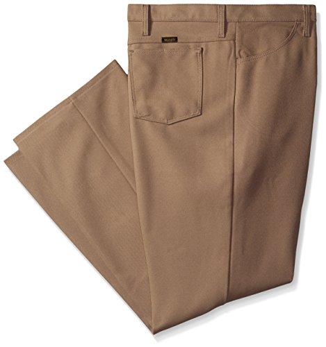 Wrangler Men's Big Wrancher Dress Jean, Tan, 46x30