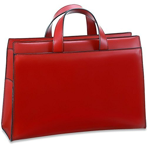 Jack Georges Milano Collection Women's Top Zip Leather Business Tote in (Jack Georges Italian Leather Handbag)
