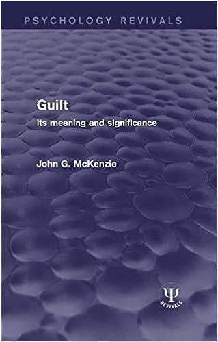Amazon com: Guilt (Psychology Revivals) (9781138677203