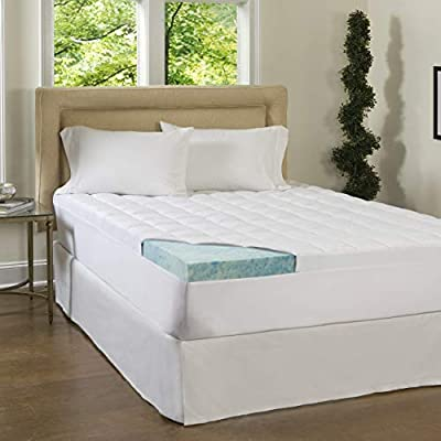 Simmons Beautyrest ComforPedic Loft from Beautyrest 3-inch Supreme Gel Memory Foam and 1.5-inch Fiber Mattress Topper with Cover