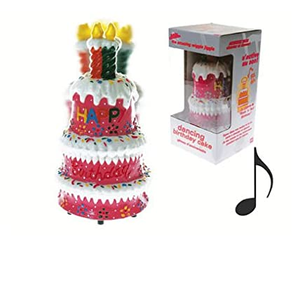 Magnificent Dancing Singing Birthday Cake Fun Novelty Gifts Amazon Co Uk Personalised Birthday Cards Paralily Jamesorg