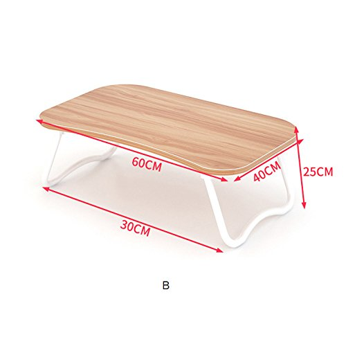 Qiaoba- The bed can be folded multifunction desk ,B,BROWN