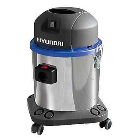 Hyundai 1400 W potente aspiradora industrial mojado y seco aspiradora: Amazon.es: Coche y moto