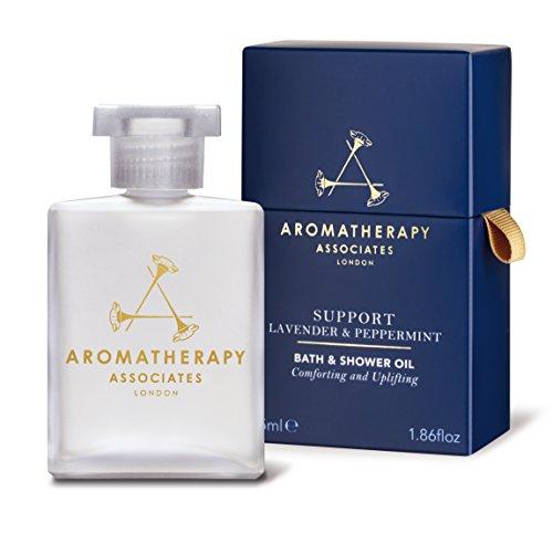 (Aromatherapy Associates Lavender & Peppermint Bath & Shower Oil, 1.86 Fl Oz)
