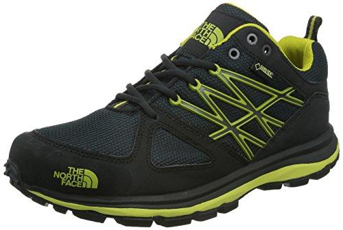 The North Face M Litewave GTX, Zapatillas de trail running Negro / Verde