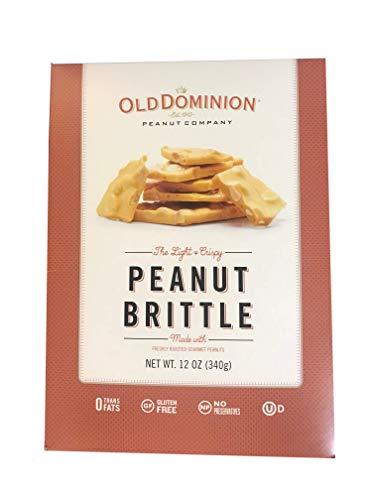 Old Dominion Peanut Brittle 12 Ounce Box - Gourmet Peanut Brittle