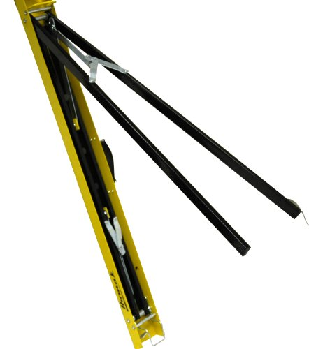 Homak Folding/Portable Sawhorse with Carry Handle, Set of 2, HA01539151